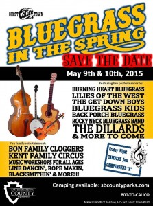Bluegrass in the Spring Calico Ghost Town